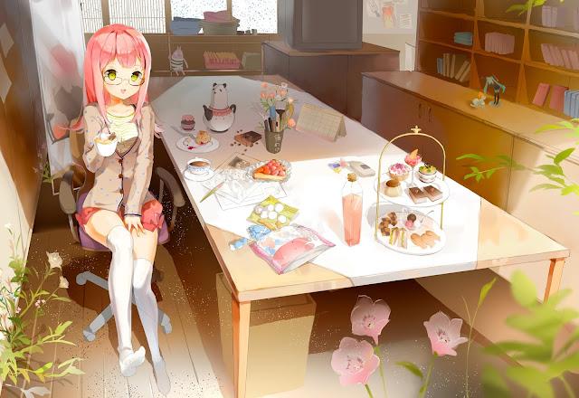 Megurine Luka, Vocaloid,anime girl