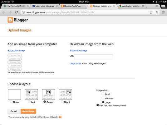 google chrome for ipad