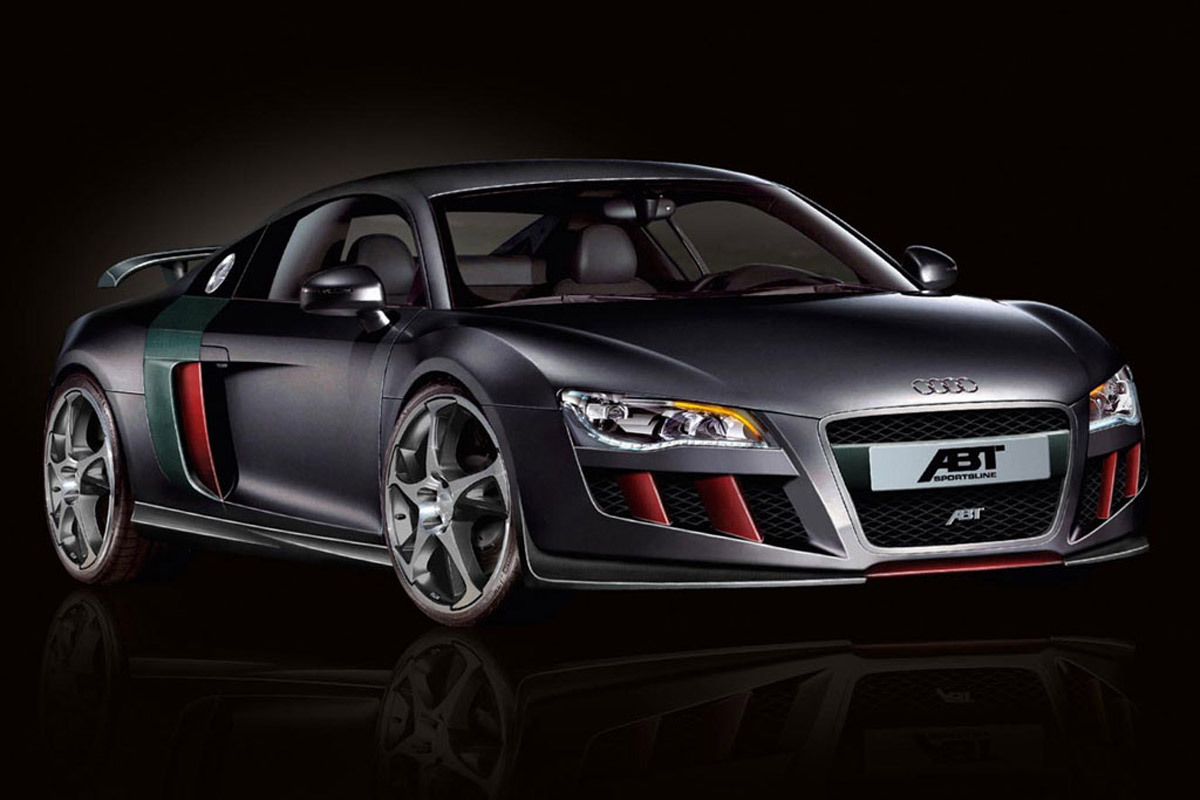 Hd-Car wallpapers: audi r8 wallpaper black