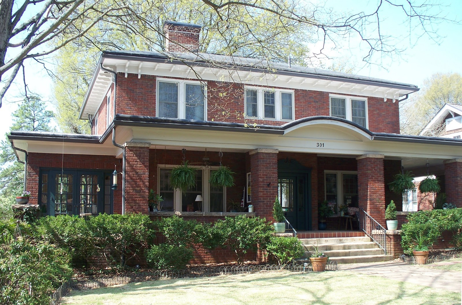 Salisbury north carolina real estate april 2013 Brick craftsman house