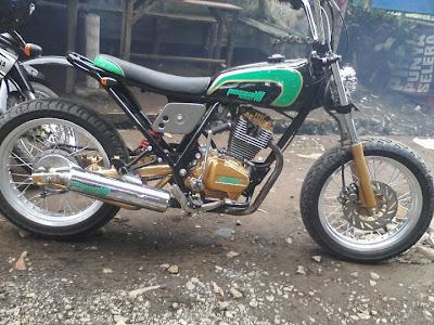 Modifikasi Honda GL Pro - CB100 Street Fighter Bike