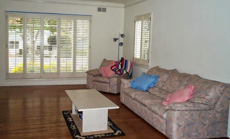 View of lounge room from dining room