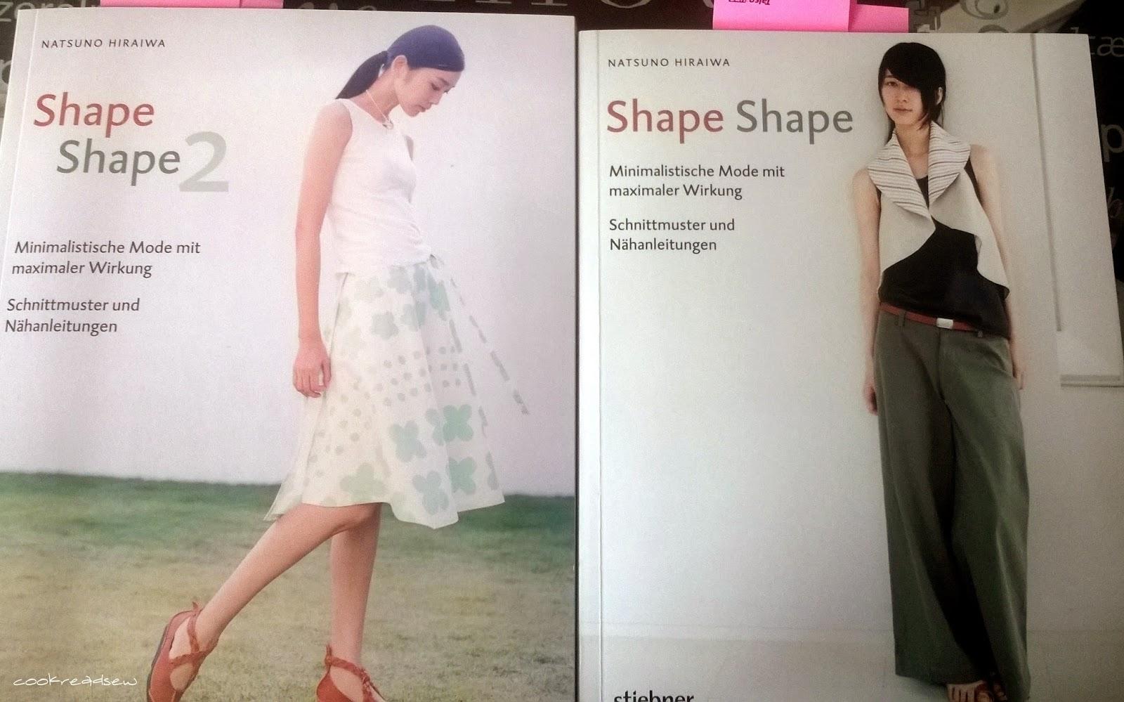 cookreadsew: Natsuno Hiraiwa: Shape Shape - 1 und 2