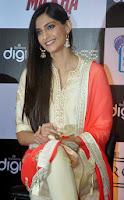Sonam Kapoor at launch of Bhaag Milkha Bhaag DVD
