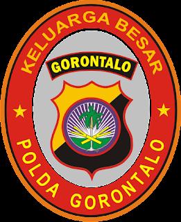 Stiker Polda Gorontalo