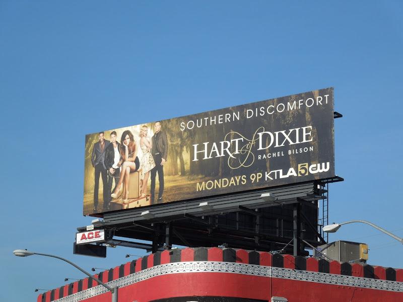 Hart of Dixie mid-season 1 TV billboard