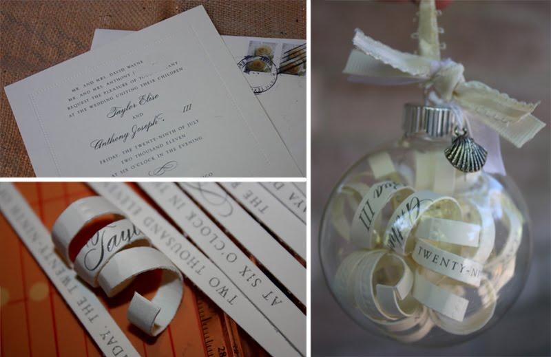 Wedding Invitation Keepsake Wedding invitation keepsake