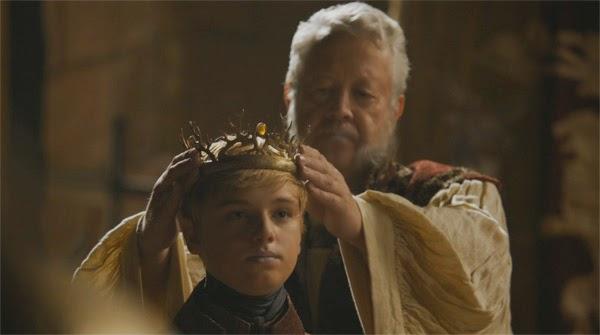 Tommen Baratheon es coronado nuevo Rey (Juego de Tronos 4x05)