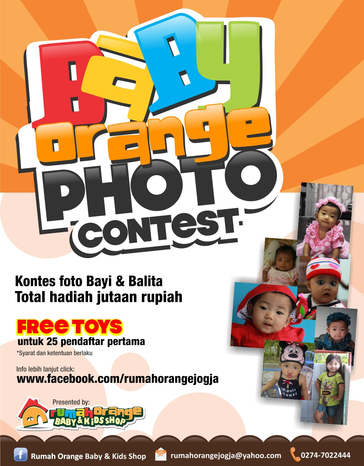 BABY ORANGE PHOTO CONTEST