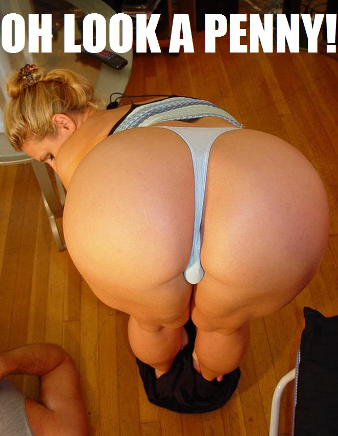 Booty Butt Chick Bending Over Cleavage Firetruck Funny Pictures