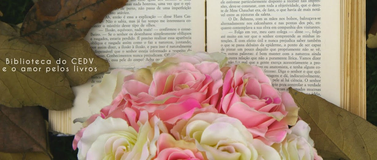 Biblioteca do CEDV e o amor pelos livros