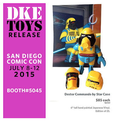"San Diego Comic-Con 2015 Exclusive Marvel Edition ""Wolverine"" Dester Commando Vinyl Figure by Star Case"