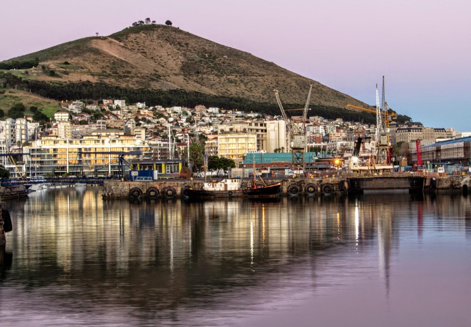 Sunrise V&A Waterfront Cape Town - Canon EOS 700D DSLR Camera