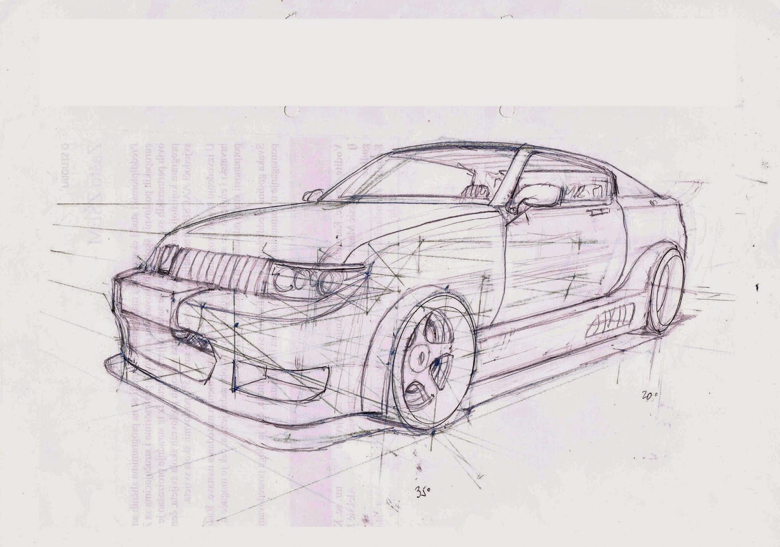 Having fun drawing cars | The Hidden Worlds of Mishimi