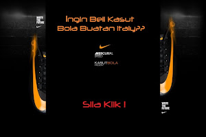 Kasut Bola Made In Italy