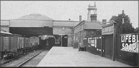 Passenger platform Gosport pre war