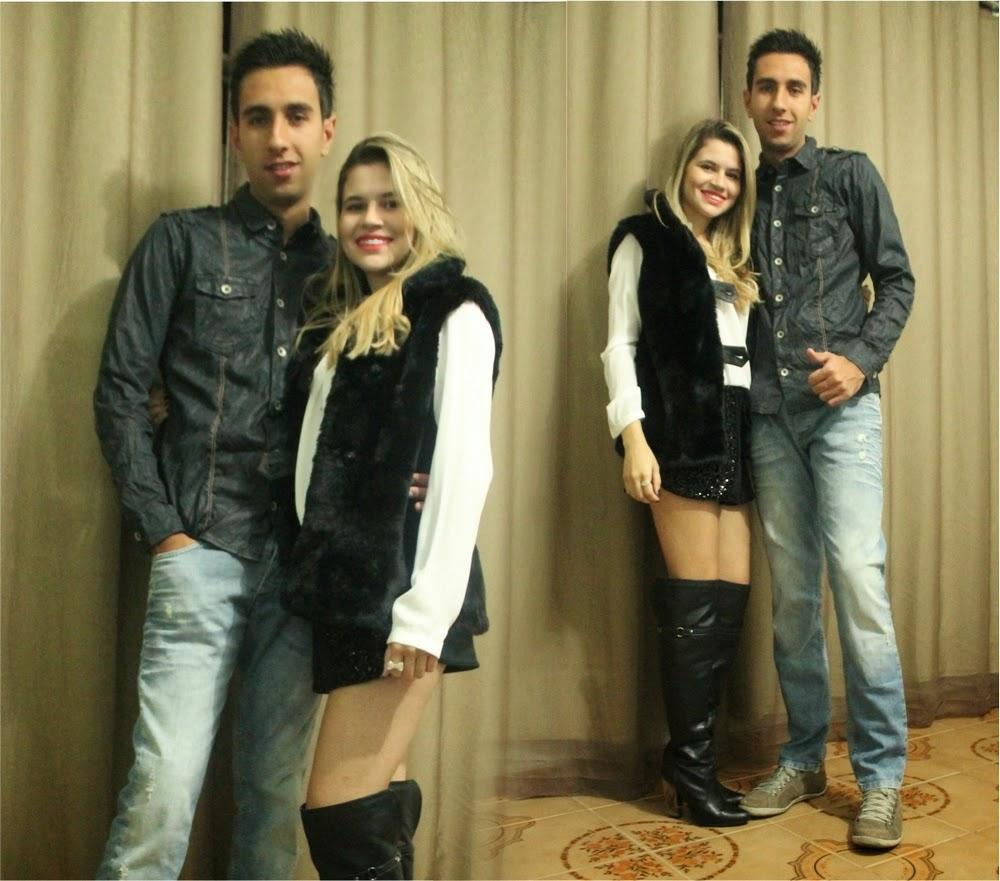 Walisson Sousa e Bárbara Olimpia
