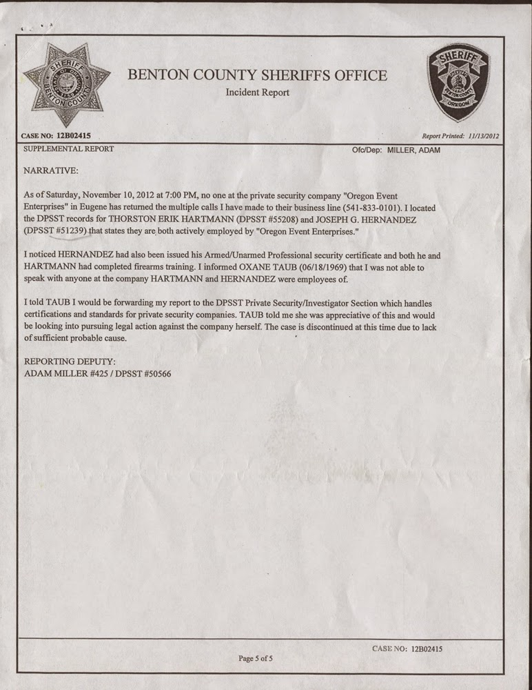 JOSEPH HERNANDEZ WORKED AS SECURITY GUARD WITH SUSENDED LICENSE ...