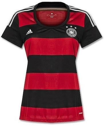 Jersey Ladies Jerman WC Away 2014