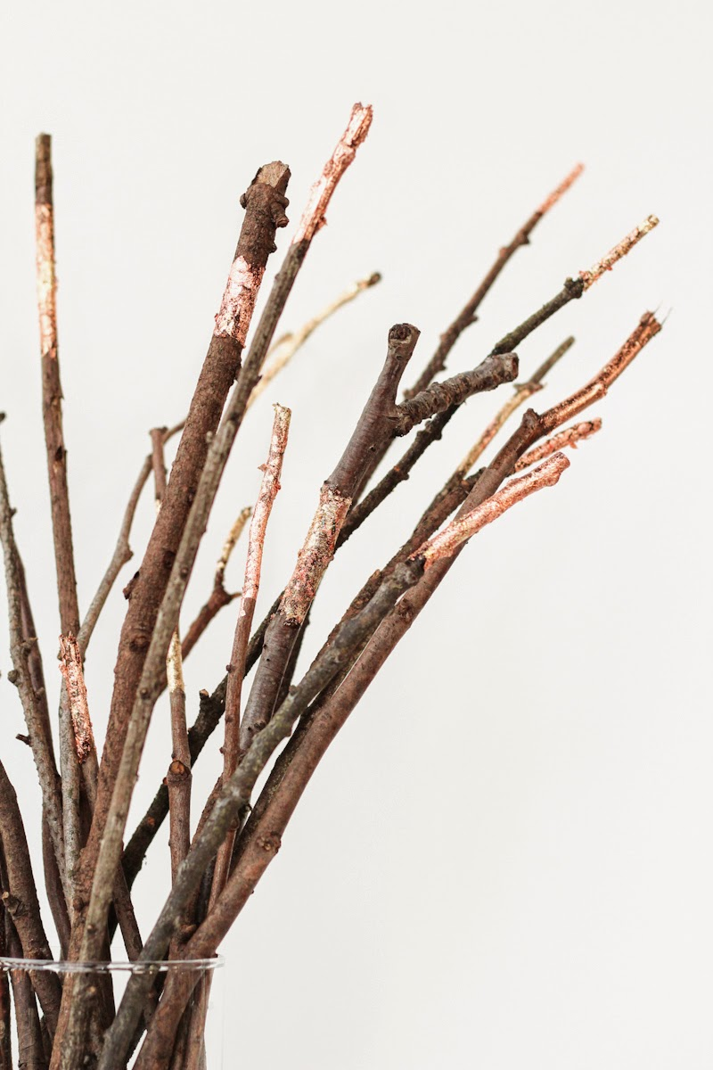 Diy Des Branches Cuivr Es C 39 Est Bient T No L Enfin Pas Tout De Suite