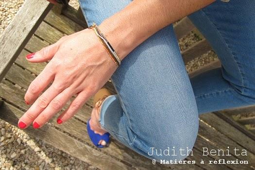 Bijoux d'été en accumulation avec les bracelets Judith Benita