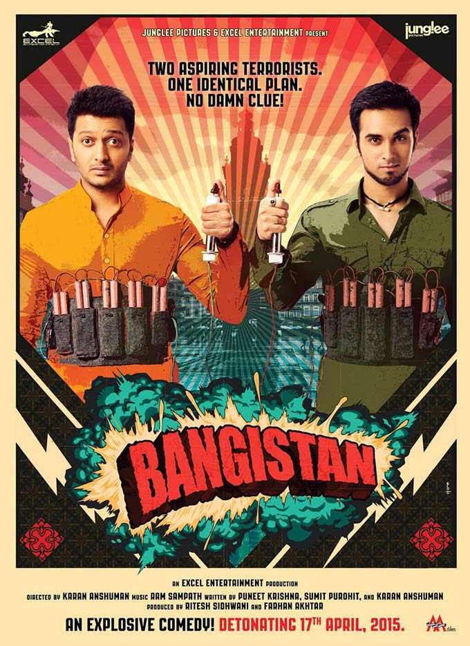 Bangistan (2014) First Look Posters
