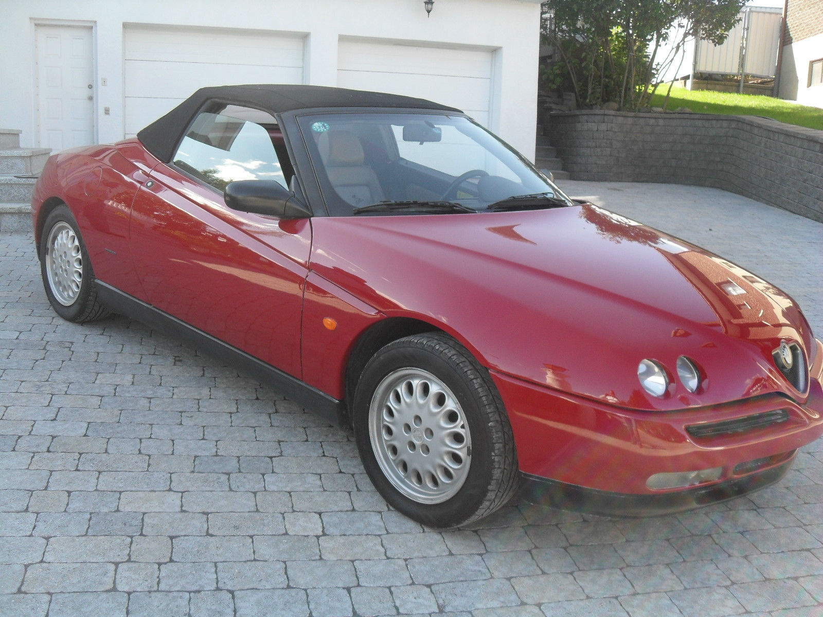 snazzy 1996 alfa romeo spider for  in new york