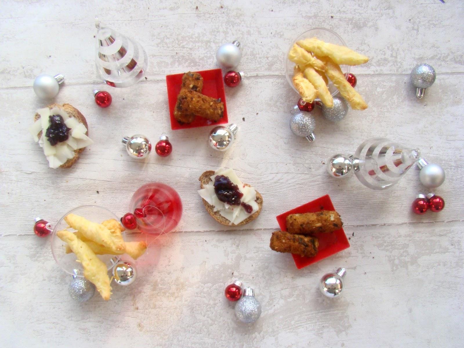 Mes Amuse-bouches de Noël: les fromagers