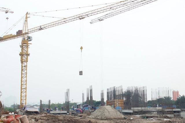 Tiến độ xây dựng tòa CT3 dự án Eco Green City