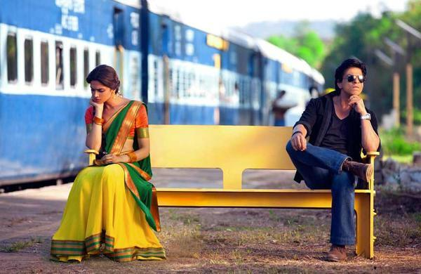 Deepika Padukone Shahrukh Khan Chennai Express