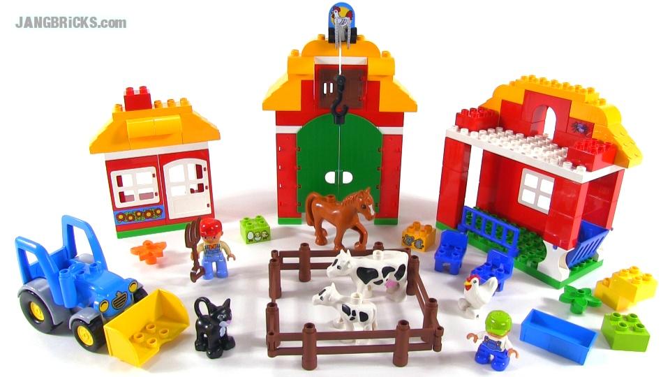 LEGO Duplo 10525 Big Farm set review!