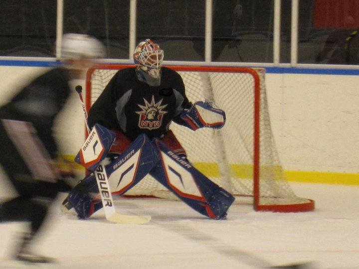 The Henrik Lundqvist Blog Henrik Lundqvist S New Pads