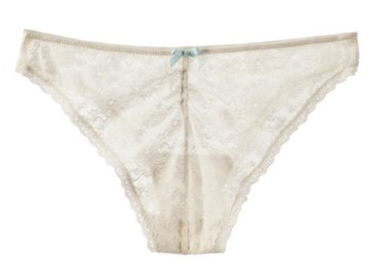 Wedding Underwear from Target