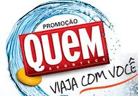 Promoção Quem viaja com você www.quemviajacomvoce.com.br
