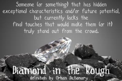 diamond losing glam mummy a the quote about