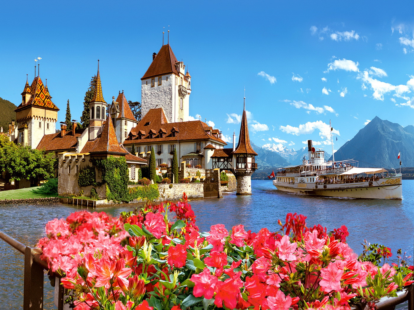 Switzerland - Oberhofen Castle Switzerland