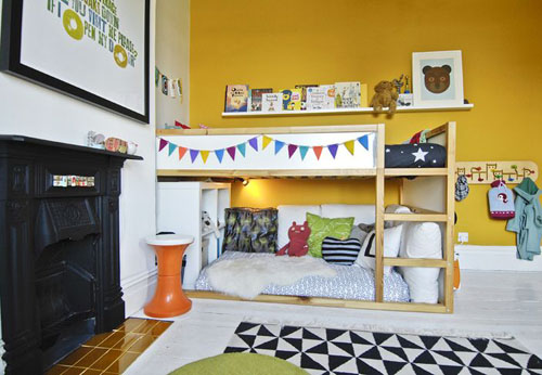 Camerette per bambini struttura kura di ikea le - Ikea idee camerette ...