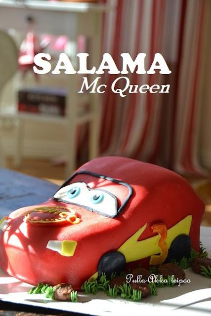 Salama McQueen kakku