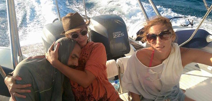 Greek Vacationers Rescue Syrian Refugee Stranded at Sea for 13 Hours Wearing Only a Life Vest