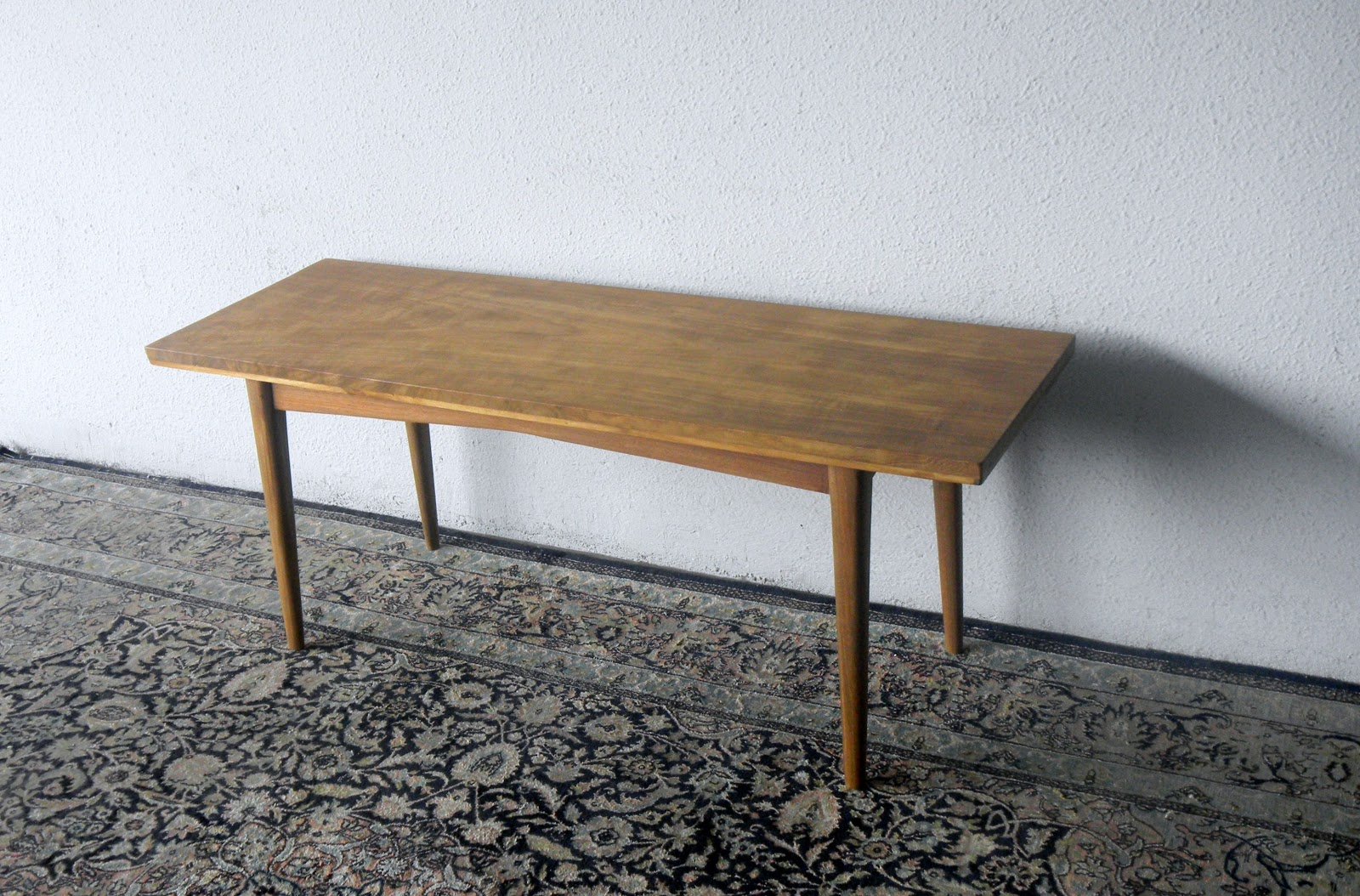 Long Slim Coffee Table Side Table L115 X D39 X H47 Cm 400