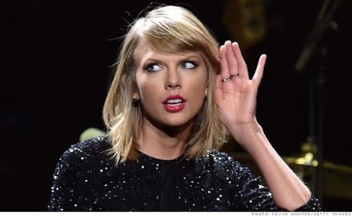 Taylor Swift é a artista que mais vendeu discos em 2015, até o momento