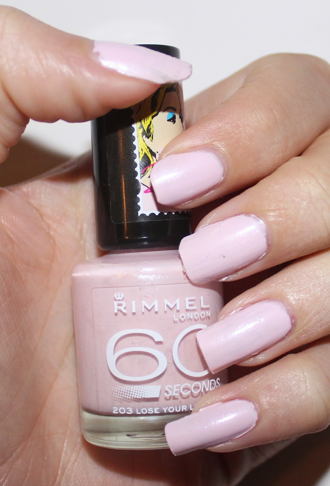 Rimmel London x Rita Ora 60 Seconds Nail Polish in Lose Your Lingerie