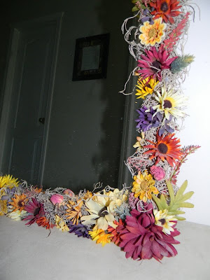 Yearning to create flowered mirror for Fomic sheet decoration youtube