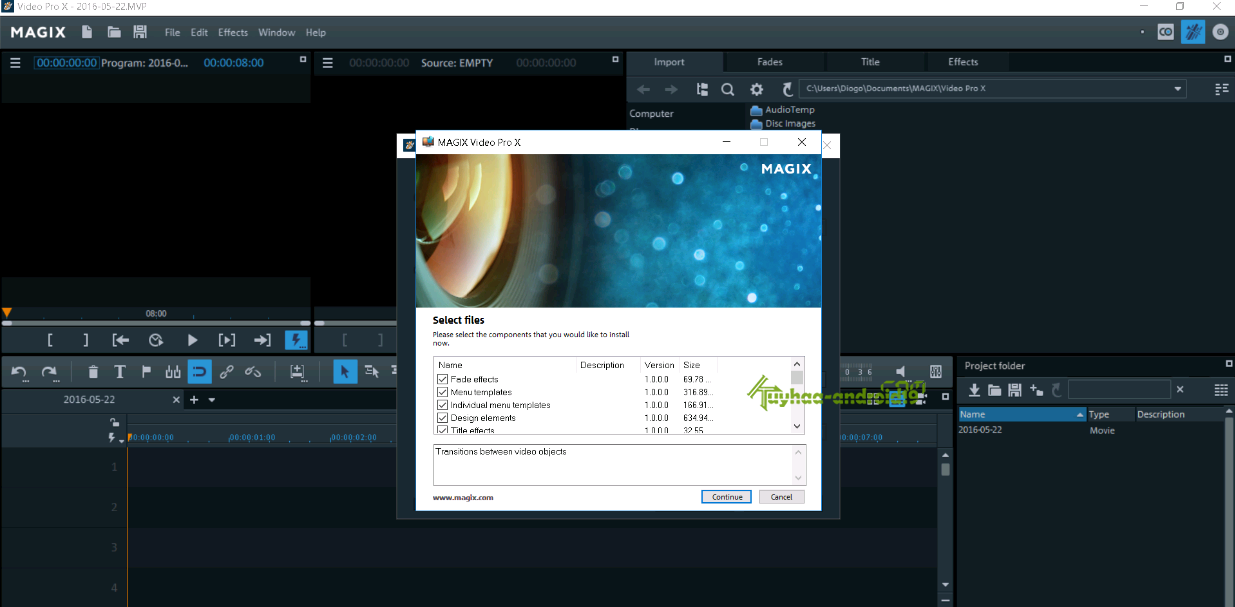 MAGIX Video Pro X8 Full