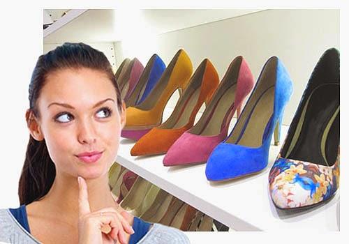 Memilih Sepatu Wanita