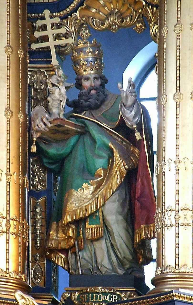 São Leão Magno. Basílica de Santa Ana, Altötting, Alemanha.