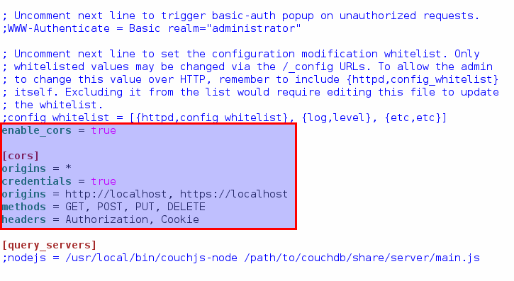 cloudera how to add cors.allowed.origins for httpfs