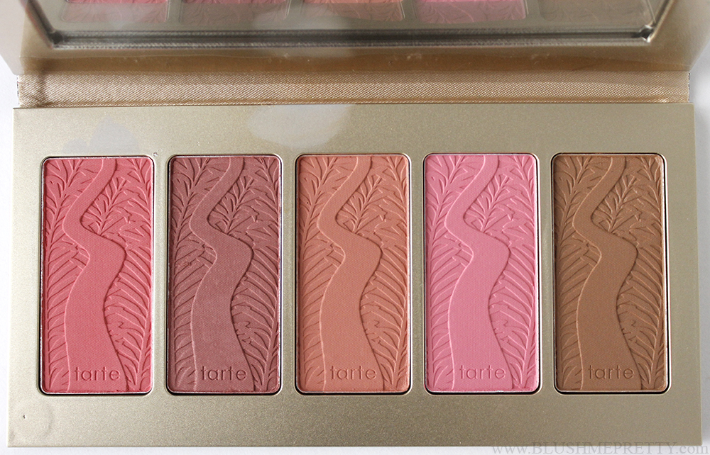 Tarte Off the Cuff Blush Palette Review