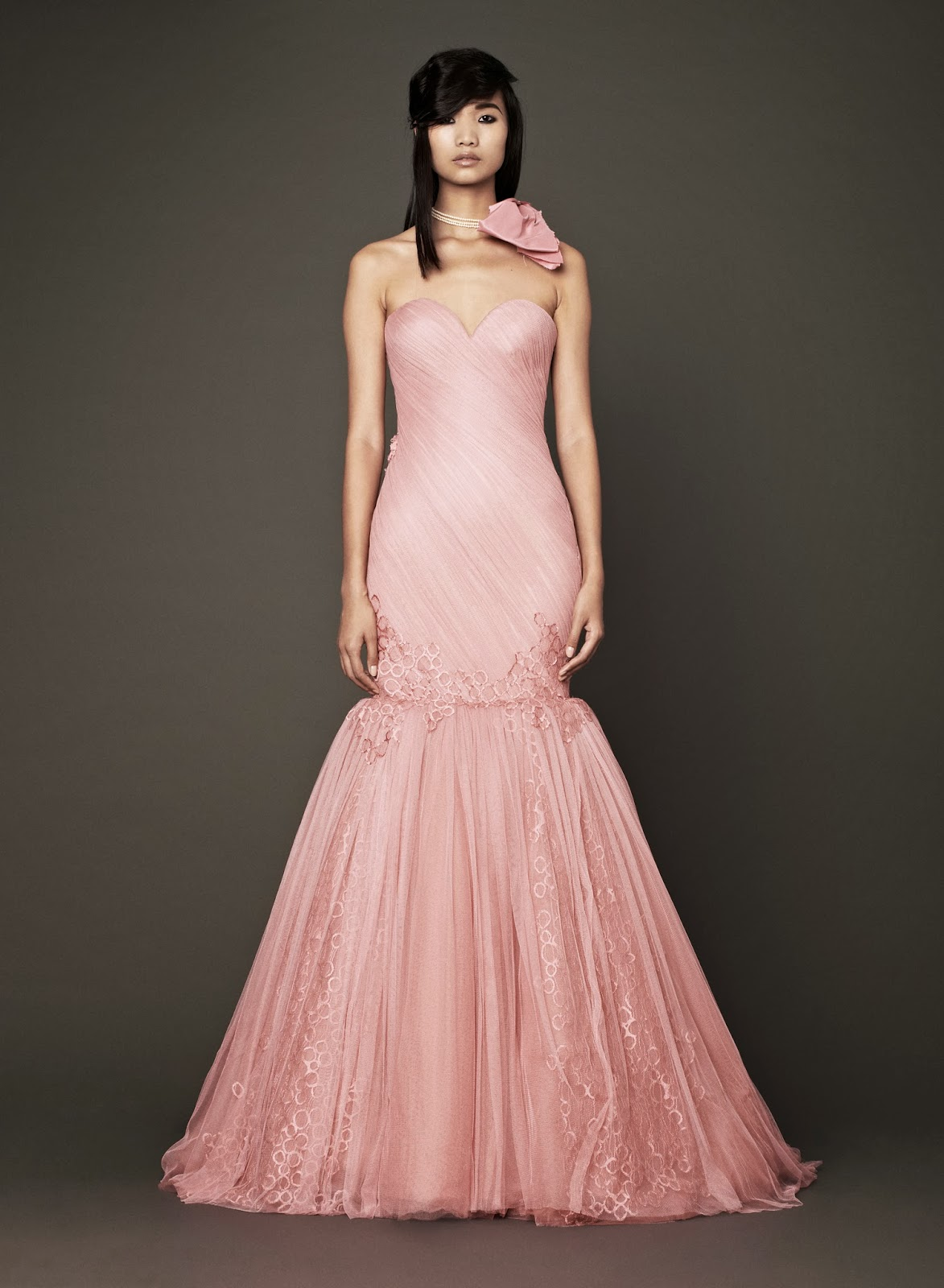 Think Pink - Vera Wang Fall 2014   Bluebelle Bride