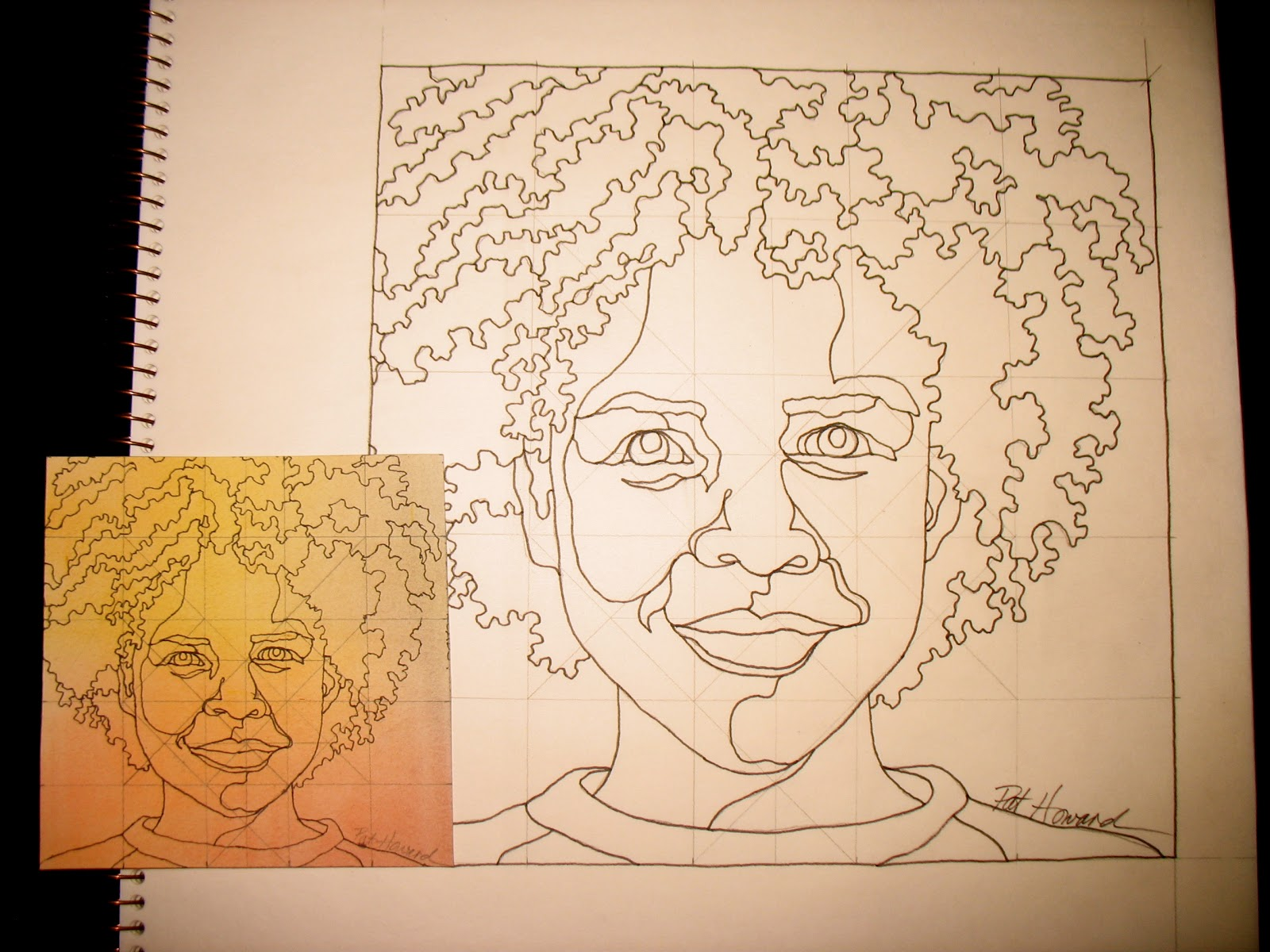Line Drawing Portrait Artists : Best sewn portrait images embroidery stitching